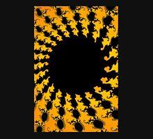 Dark Yellow Fractal Unisex T-Shirt