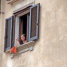 Smoking Window by phil decocco