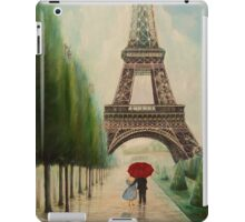 At the Eiffel Tower iPad Case/Skin