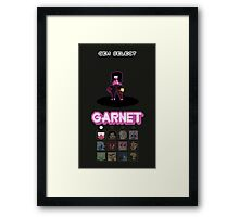 Gem Select - Garnet Framed Print