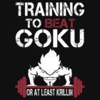Goku Gym by HelenRamsey