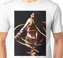 'Erotic Ellipse' - 1920s Ribbon Dancer Unisex T-Shirt