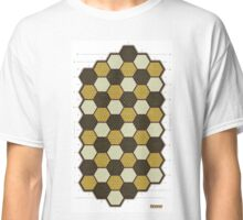 Hexes Chess game board Classic T-Shirt