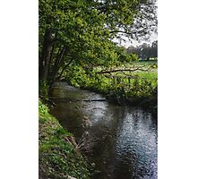 Rural Stream Landscape Photographic Print