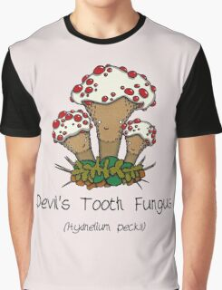 Devil's Tooth Fungus Graphic T-Shirt