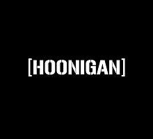 Hoonigan Racing Logo Black by djdannip