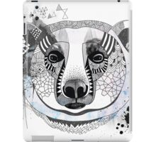 White bear iPad Case/Skin