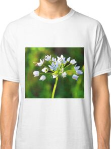 Abstract flowers drawing in pastel colors Take 9 Classic T-Shirt