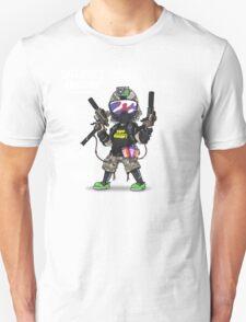 SPEEDSOFT ANATOMY TAPP TEE (White writing) Unisex T-Shirt