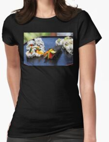 Sushi California Roll Womens Fitted T-Shirt