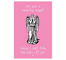 Are You a Weeping Angel? Photographic Print