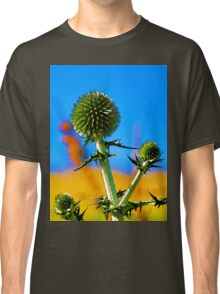Abstract flowers drawing in pastel colors Take 10 Classic T-Shirt