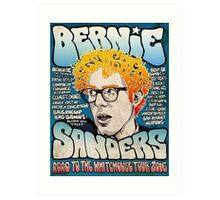 Bernie Sanders Road To The Whitehouse Tour 2016 Art Print