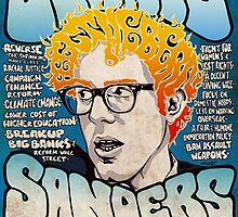 Bernie Sanders Road To The Whitehouse Tour 2016 by jamcitycomics
