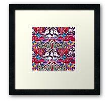 Menagerie of oz Framed Print