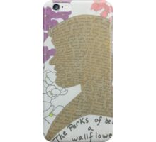 The Perks of Being a Wallflower Sticker  iPhone Case/Skin