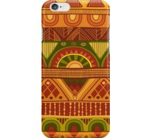 African pattern iPhone Case/Skin