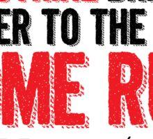 Babe Ruth - Strikes Sticker