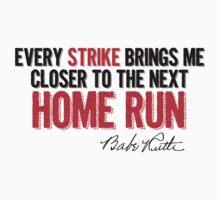 Babe Ruth - Strikes Kids Tee
