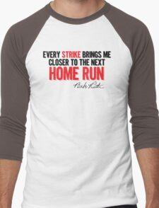 Babe Ruth - Strikes Men's Baseball ¾ T-Shirt