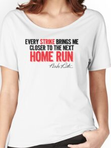 Babe Ruth - Strikes Women's Relaxed Fit T-Shirt