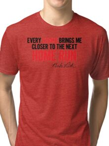 Babe Ruth - Strikes Tri-blend T-Shirt