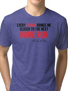 Babe Ruth - Strikes Tri-blend T-Shirt