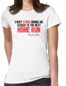 Babe Ruth - Strikes Womens Fitted T-Shirt