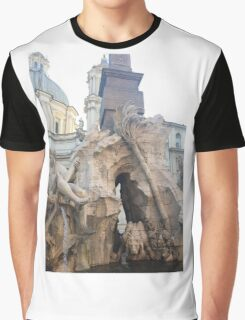 this really sick fountain  Graphic T-Shirt