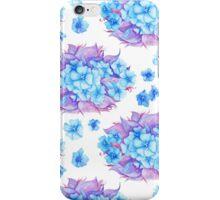 Watercolor Tender Floral Pattern iPhone Case/Skin