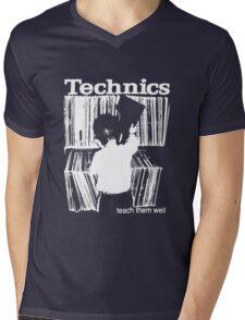 technics 1 Mens V-Neck T-Shirt