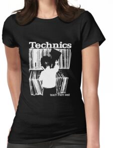 technics 1 Womens Fitted T-Shirt