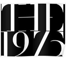 1975 band Poster