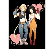 Gidan and Garnet Final Fantasy IX Photographic Print