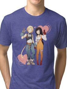 Gidan and Garnet Final Fantasy IX Tri-blend T-Shirt