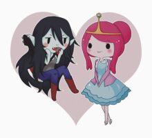 Marceline and Princess Bubblegum - Adventure Time Kids Tee