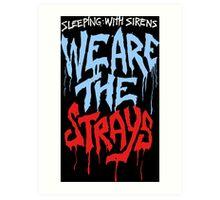 Sleeping with sirens music Art Print