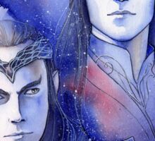 Elrond and Elros Sticker