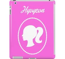 Girls Generation (SNSD) Hyoyeon Barbie Design iPad Case/Skin