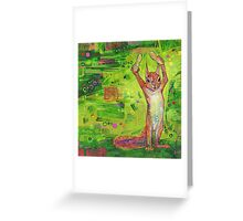 Nuts painting - 2014 Greeting Card