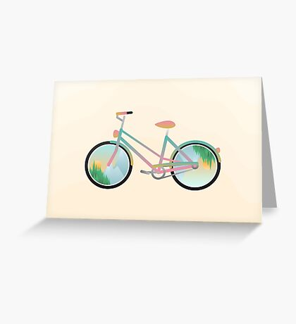 Pimp my bike Greeting Card
