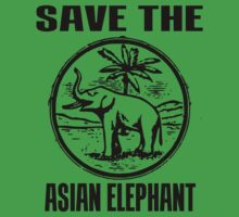 SAVE THE ASIAN ELEPHANT by truthtopower