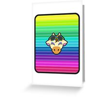 GRACIE ANIMAL CROSSING Greeting Card