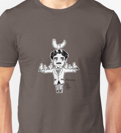 Tiny Tesla with Birb Friends Unisex T-Shirt