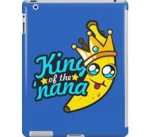 King of the 'nana iPad Case/Skin