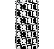 Marie Curie Silhouette Pop Art iPhone Case/Skin