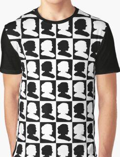 Marie Curie Silhouette Pop Art Graphic T-Shirt