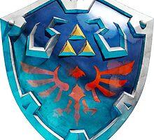 link's shield by CAMAT
