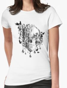 Melt down Womens Fitted T-Shirt