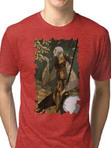 Solas Tarot Card 1 Tri-blend T-Shirt
